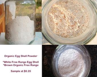 Organic Egg Shell
