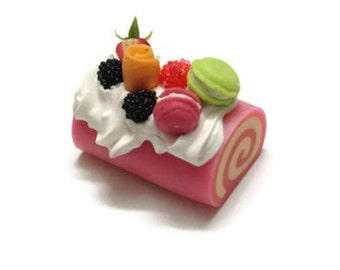 Miniature Sweet - Roll Cake topping RC003