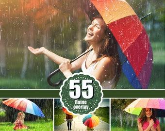 55 Rain drops rainbow weather fog Photo Overlays, Photography Overlay, Photography Photo Prop, Photoshop overlay, Rain effect png file