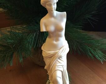 Antique Greek Aphrodite Statue also known as Venus De Milo Greek Figurine Historical Gifts For Her