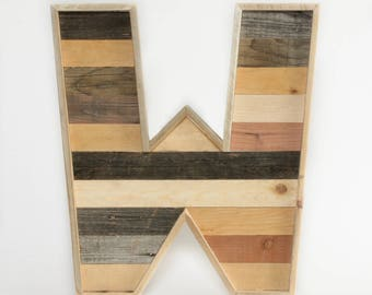 Reclaimed Wood Letters Supersized ∆ XL wood letters for wall ∆ large wooden letters ∆ wooden wall letters ∆ reclaimed wood letters
