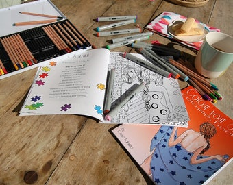 colour your stars (colouring in book)