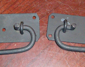 2 Vintage Metal Door/Drawer Handles