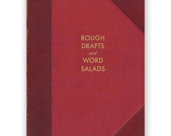 Rough Drafts and Word Salads - JOURNAL - Humor - Gift