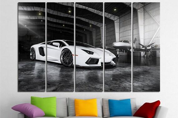 Lamborghini Aventador Lamborghini Print Lamborghini Canvas