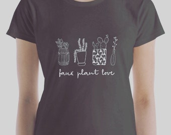 Faux Plant Love Women's short sleeve t-shirt