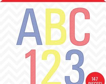 Primary Color Engraved Alphabet | alphabet clip art, alphabet clipart, alphabet letters, digital alphabet, clip art, letter clip art
