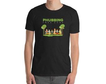 No Phubbing Short-Sleeve Unisex T-Shirt