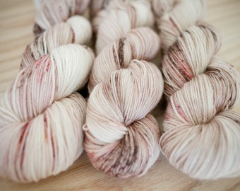 English Breakfast - Hand Dyed Fingering Weight Yarn