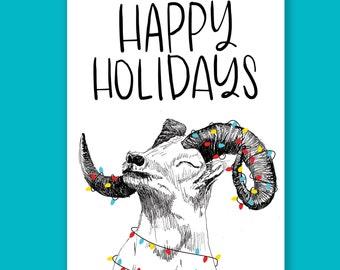 Happy Holidays Ram | Holiday Card