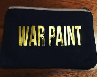 War Paint Make Up Bag