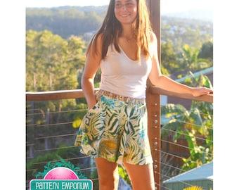 PATTERN Ladies Swing Shorts - PDF Sewing Pattern