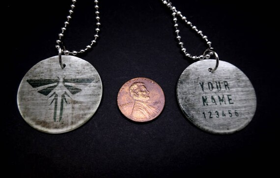Customizable the last of us firefly dog tags mozeypictures Gallery