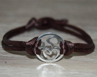 Om Bracelet,Om Cord Bracelet,Buddhist,Spirituality,Mala Prayer,Men,Woman,Yoga Bracelet,Protection,Meditation,Protection,Good Fortune