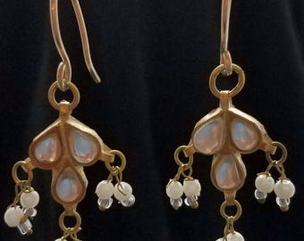 Single Drop with Pearls