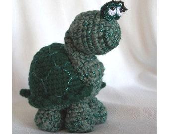 Amigurumi Crochet Pattern - Tess the Turtle