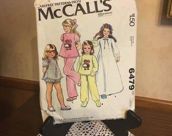 McCall's Children's 6479 Vintage