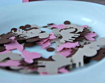 Cowgirl Birthday Party Confetti, Western Party Decorations, Rodeo Birthday Party, Stable Party Confetti