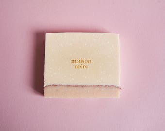 pastel pink soap