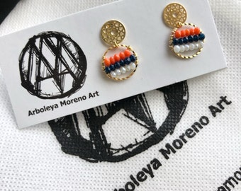 Mándala earrings