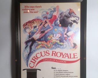 Framed Circus Royale Print