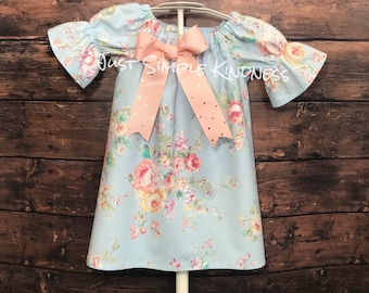Girls Easter Dress, Girls Spring Dress, Girls Dresses, Easter Dress, Baby Girl Easter Outfit, Easter Dresses, Boho Dress, Toddler Dress