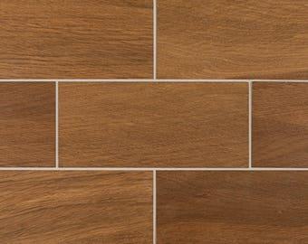 English Brown Oak Tiles