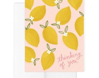 Lemon Toss Greeting Card