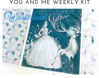 Weekly Kit | Winter Weekly Kit | Winter Stickers | Planner Stickers | Weekly Stickers | Vertical Kit | Erin Condren | Happy Planner | WK17