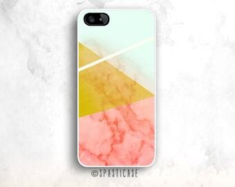 Marble iPhone 6S Case, iPhone 6 Case, iPhone 5C Mint, Geometric iPhone 5S Tough Case, iPhone 6 Case, iPhone 6 Plus Marble Case, iPhone Case