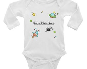 The Truth Is Out There Infant Long Sleeve Bodysuit