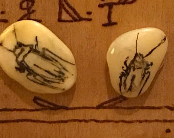 Palmetto Bug Earrings #1