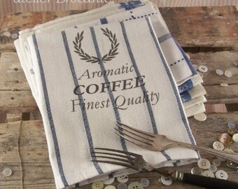 Kitchen Towel Aromatic Coffee, tea towels, kitchen cloth, kitchen towels, paris, kitchen retro, Chocolate, Coffee