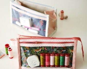 Inside-Outside Pouch - Paper Sewing Pattern by Aneela Hoey