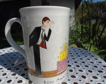 Signed Fragonard - never used porcelain mug