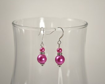 Azalea Pearl Bridesmaid Earrings