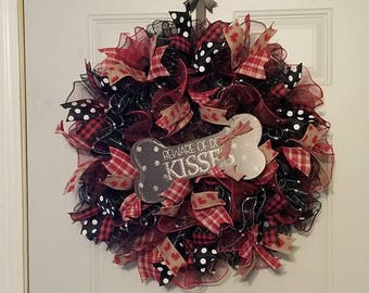 Dog Kisses Wreath
