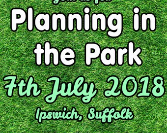 PRE ORDER Planning In The Park 2018 Ticket