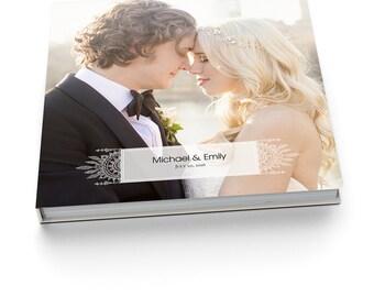 Album Template - 12x12 Wedding Album for Pro Photographers - BOHEMIAN LACE - 1312