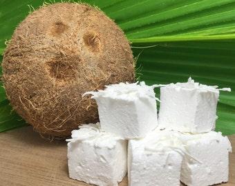 Coconut Gourmet Marshmallows  - 16 Gourmet Handcrafted Marshmallows