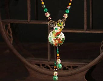 Cloisonne Necklace