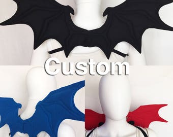 Dragon Wings custom colors custom color dragon wings bat wings demon wings dragon wings costume dragon cosplay custom wings
