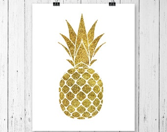INSTANT DOWNLOAD! SVG, Pineapple Svg, Glitter Pineapple Clipart, Svg Files, Cricut Cut Files, Silhouette Cut Files