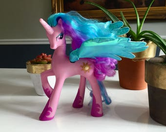 My Little Pony talking and moving Princess Celestial, collectible rare my little pony
