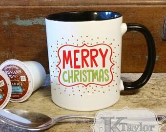 Coffee Mug, Hot Chocolate Mug, Tea Mug, Holiday Mug, Season Mug, Gift Idea, Christmas Gift, Cute Holiday Mug, Christmas Mug, Merry Christmas