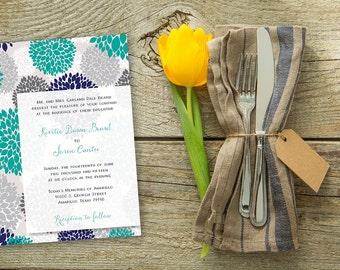 DIY Digital Printable Wedding Invitation