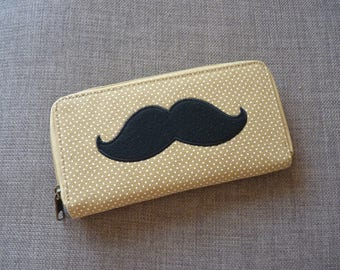 Dapper Moustache Wallet