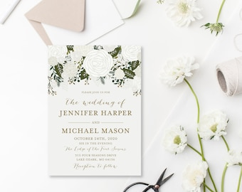 Diy Wedding Invites Etsy - Cheap wedding invitation templates