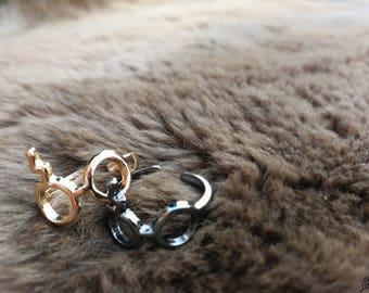 Harry Potter Inspired Ring, HP Ring, Glasses Ring, Scar Ring, Lightning Ring, Geek Ring, Cosplay Ring, Hary Poter Ring Glasses and Lightning