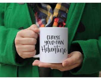 Choose your own adventure  | Ceramic mugs | adventure | mom mugs | mommy mugs